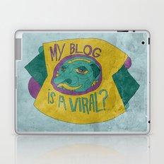MAKE IT GO VIRUS Laptop & iPad Skin