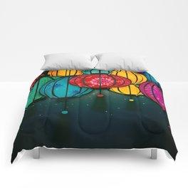 Chinese Lanterns Comforters