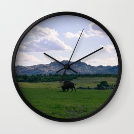 The Wichitas Wall Clock