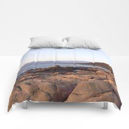 Sunrise in Corsica Comforters