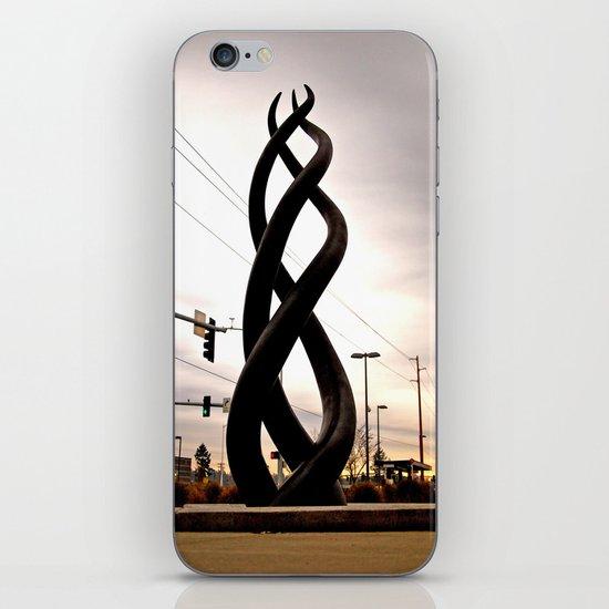 Train station sculpture iPhone & iPod Skin