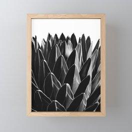 Agave Chic #7 #succulent #decor #art #society6 Framed Mini Art Print
