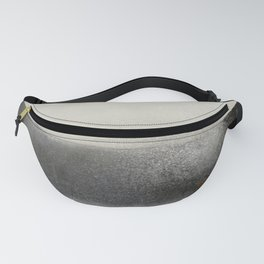 The ocean behind the wall Fanny Pack