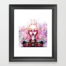 SOMETHINGS Framed Art Print
