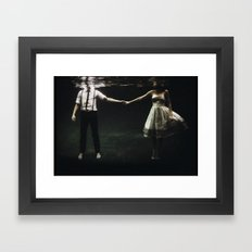 abyss of the disheartened : IX Framed Art Print