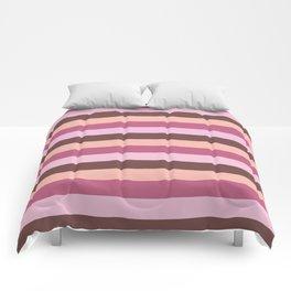 Deep Pinks Comforters