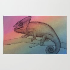 Chameleon (3) Rug