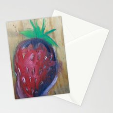 strawberry fields Stationery Cards