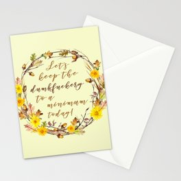 LET'S KEEP THE... Stationery Cards