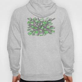 Green Fragmentation Hoody