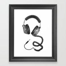 Headphone Culture Framed Art Print