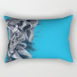 The Passenger Rectangular Pillow