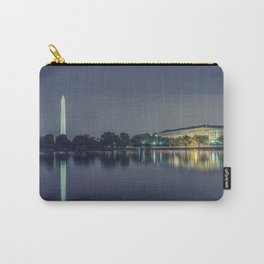 Washington Memorial from the Jefferson Memorial Site Carry-All Pouch