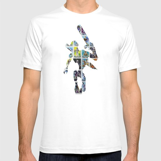 Cut StarWars Collage 6 T-shirt
