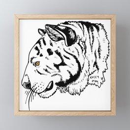 El Tigre Framed Mini Art Print