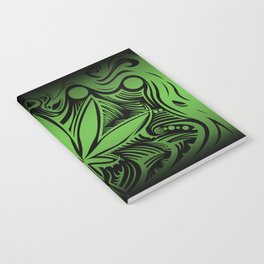 weed2 green Notebook