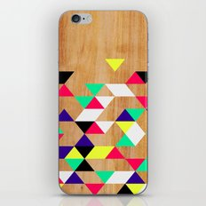 Geometric Polygons Arbutus iPhone & iPod Skin