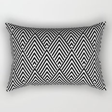 Triangles in Diamonds Rectangular Pillow