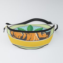 Canyon With Hemp Banner Oval Retro Fanny Pack