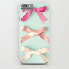 Three silky ribbons iPhone 6 Slim Case