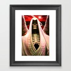 The Angel of Death. Framed Art Print
