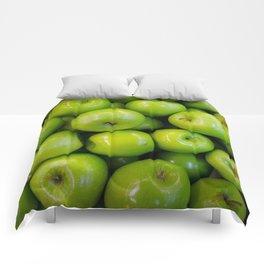 green-apples Comforters