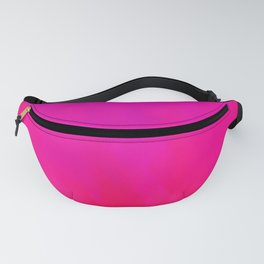 Fuchsia Fire Magenta Violet Ombre Fanny Pack
