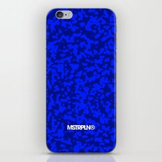 Comp  Camouflage / Blue iPhone & iPod Skin