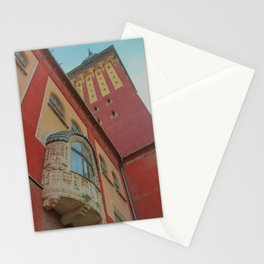 Subotica city hall detail #2 Stationery Cards