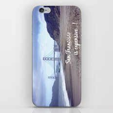 San Francisco is expensive  iPhone & iPod Skin