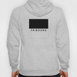 fribourg region switzerland country flag name text swiss Hoody