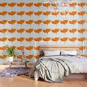 One And Only - Orange Poppy White Background #decor #society6#buyart by pivivikstrm