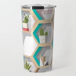 House Plant Shelves Travel Mug