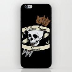 Follow Your Arrow iPhone & iPod Skin