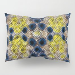 Blue Gold Heritage Pillow Sham