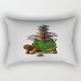 Temple of the turtles Rectangular Pillow