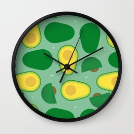 Avocado Time! Wall Clock