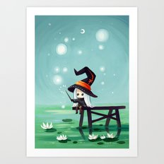 Bubbles Art Print