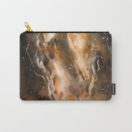 Fire in the Lion Carry-All Pouch