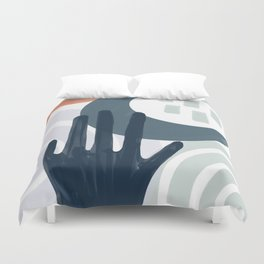 Touch the Moon Duvet Cover