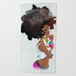 Baby Girl Beach Towel