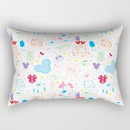 Tasting the Magic - White Rectangular Pillow