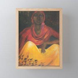 Ethiopian Girl Framed Mini Art Print