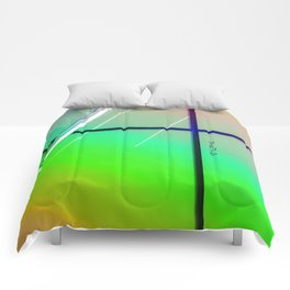 Abstract Wild Urban Comforters