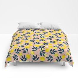 Lemony Goodness Comforters