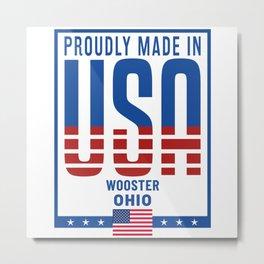 Wooster Ohio Metal Print