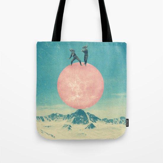 bayside high Tote Bag