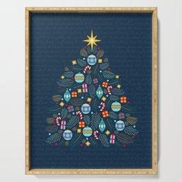 O Christmas Tree Serving Tray