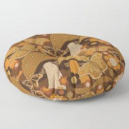 Mushroom Stitch Floor Pillow