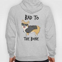 Bad to the Bone Corgi Hoody